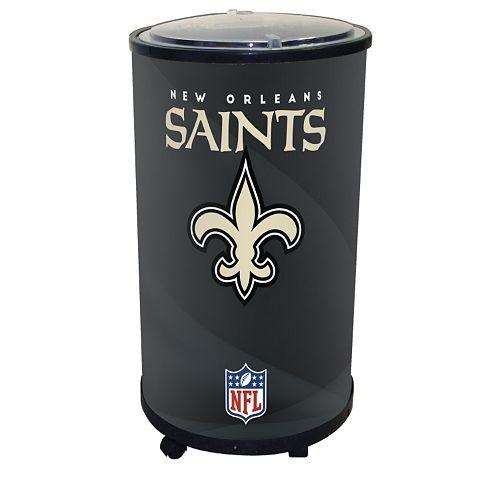 New Orleans Saints Ice Barrel Cooler