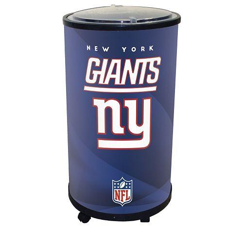 New York Giants Ice Barrel Cooler
