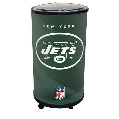New York Jets Ice Barrel Cooler