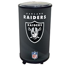 Oakland Raiders Ice Barrel Cooler