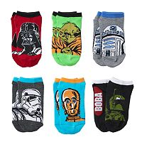 Boys 4-11 6-pack Star Wars Low-Cut Socks