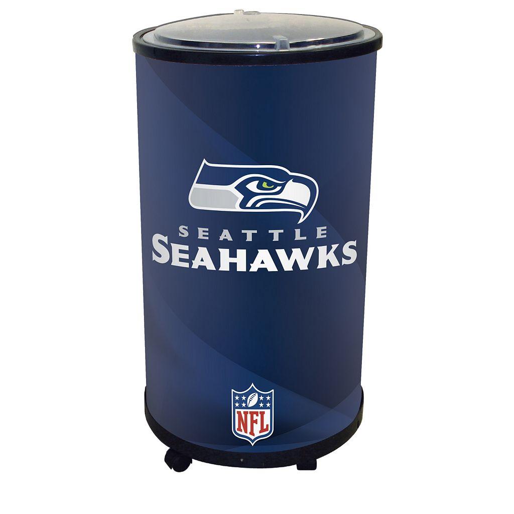 Seattle Seahawks Ice Barrel Cooler