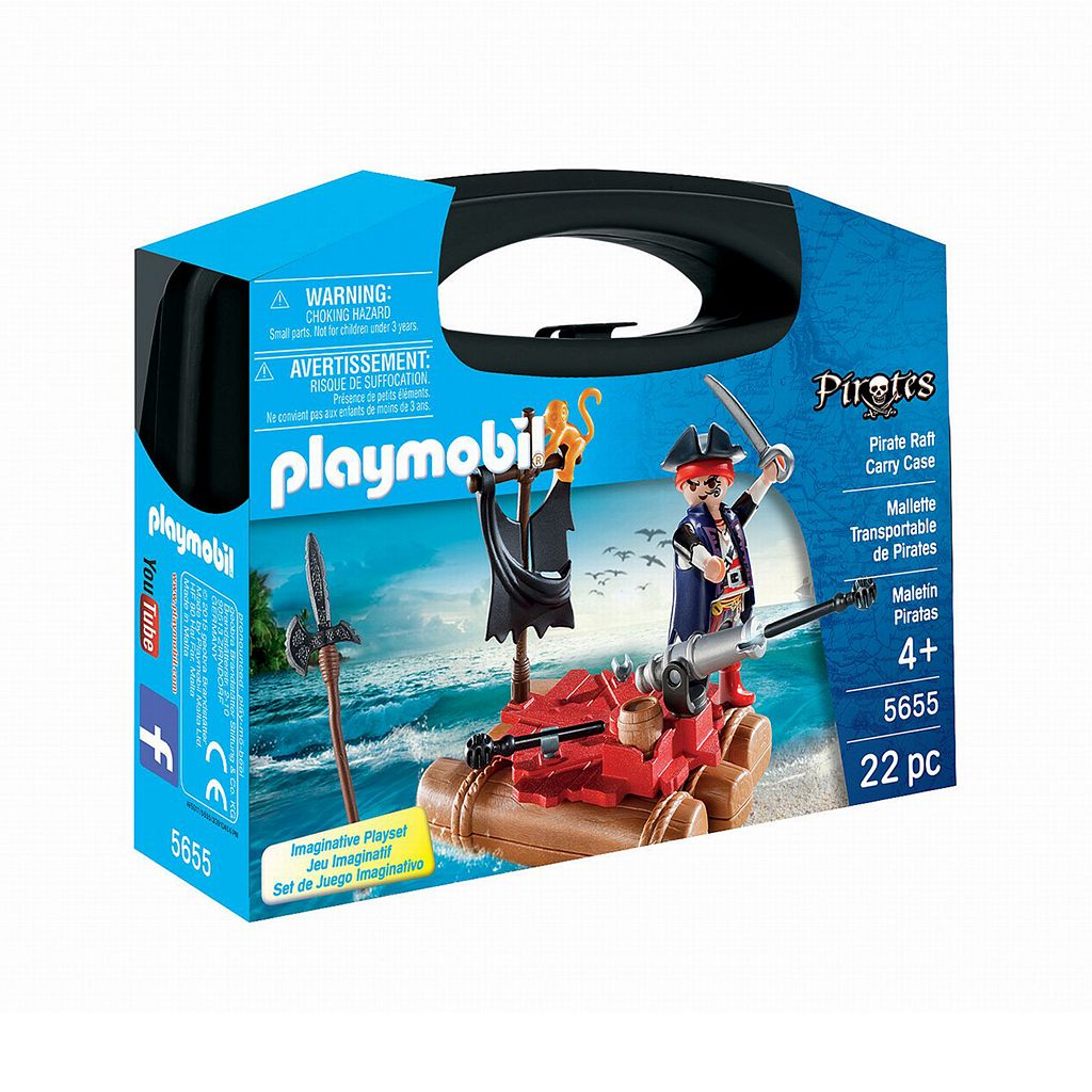Playmobil Pirate Raft Carry Case - 5655