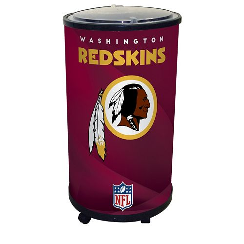 Washington Redskins Ice Barrel Cooler
