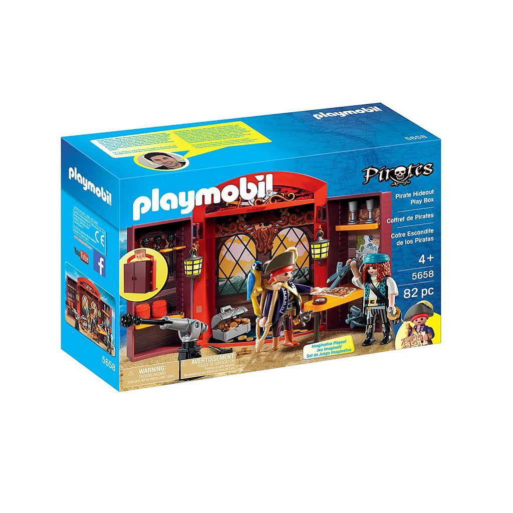 Playmobil Pirates Hideout Play Box - 5658