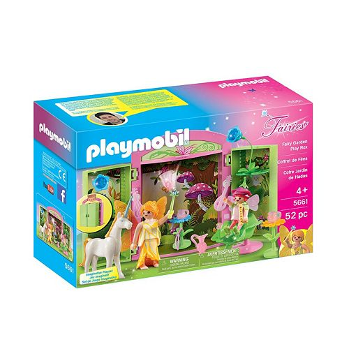 Playmobil Fairy Garden Play Box - 5661
