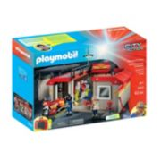 Playmobil Take-Along Fire Station Set - 5663