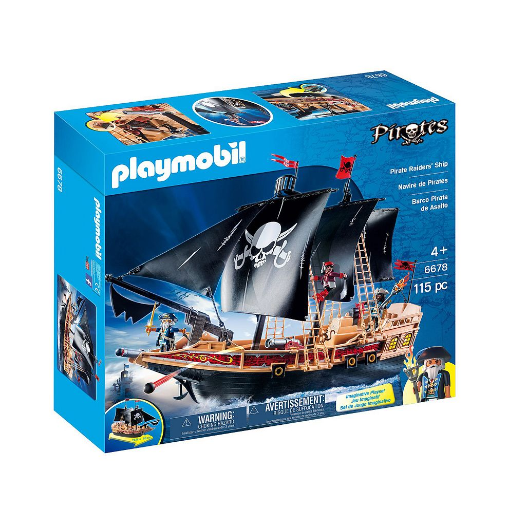 Playmobil Pirate Raiders' Ship - 6678