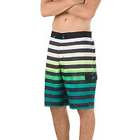 Men's Speedo Paradise Striped 4-Way Stretch E-Board Shorts