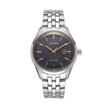 Citizen Eco-Drive Men's Sapphire Stainless Steel Watch - BM7251-53H