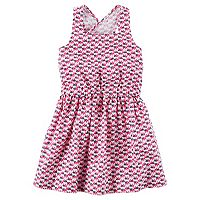 Girls 4-6x Carter's Elephant Geometric Print Dress