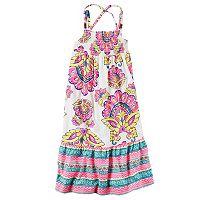 Girls 4-6x Carter's Multi-Print Maxi Dress