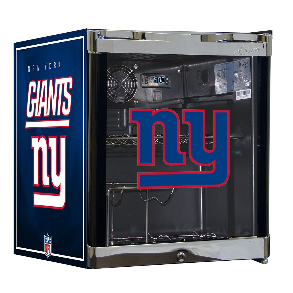 New York Giants Wine Fridge