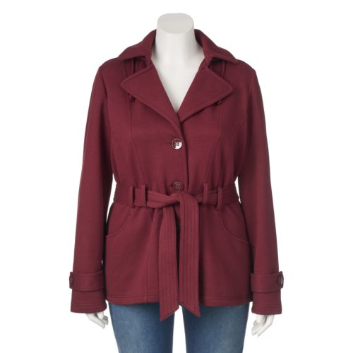 Womens Plus Trench Coats & Jackets - Outerwear Clothing | Kohl's