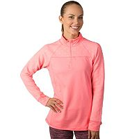 Women's Jockey Sport Quarter-Zip Microfleece Performance Jacket