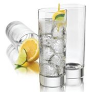 Food Network™ Alba Cooler 4 pc Highball Glass Set