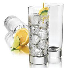 Food Network™ Alba Cooler 4 pc Highball Glass Set