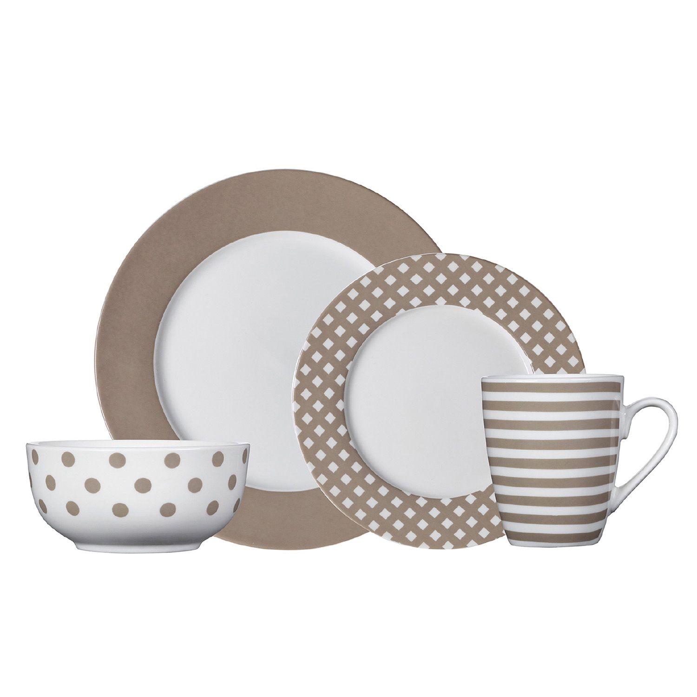 sc 1 st  Kohlu0027s & Pfaltzgraff Everyday Kenna 16-pc. Dinnerware Set