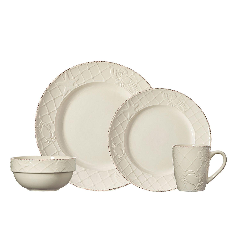 Pfaltzgraff Everyday Northport 16-pc. Dinnerware Set  sc 1 st  Kohlu0027s & Coastal Dinnerware u0026 Serveware Kitchen u0026 Dining | Kohlu0027s