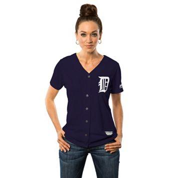 Women's Majestic Detroit Tigers Cool Base Replica Jersey