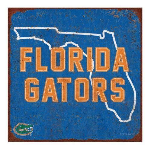 Legacy Athletic Florida Gators State Tin Sign