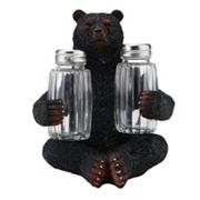Mossy Oak Bear Salt & Pepper Shaker