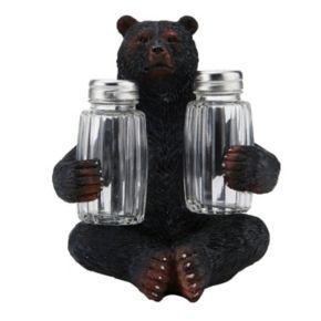 Mossy Oak Bear Salt & Pepper Shaker