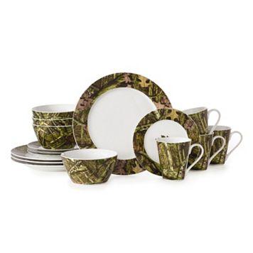 Mossy Oak 16-pc. Camouflage Dinnerware Set