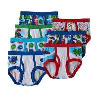 Toddler Boy PJ Masks Gekko, Catboy & Owlette 7 pkBriefs