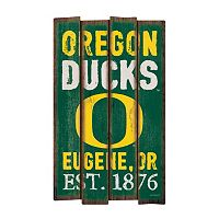 Legacy Athletic Oregon Ducks Plank Sign