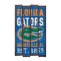Legacy Athletic Florida Gators Plank Sign