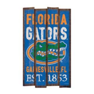 Legacy Athletic Florida Gators Plank Sign