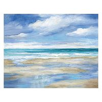 Artissimo Washy Coast I Canvas Wall Art