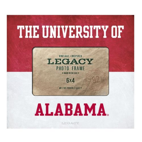 Legacy Athletic Alabama Crimson Tide 4 x 6 Dreams Photo Frame