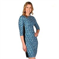 Women's Larry Levine Splatter Sheath Dress