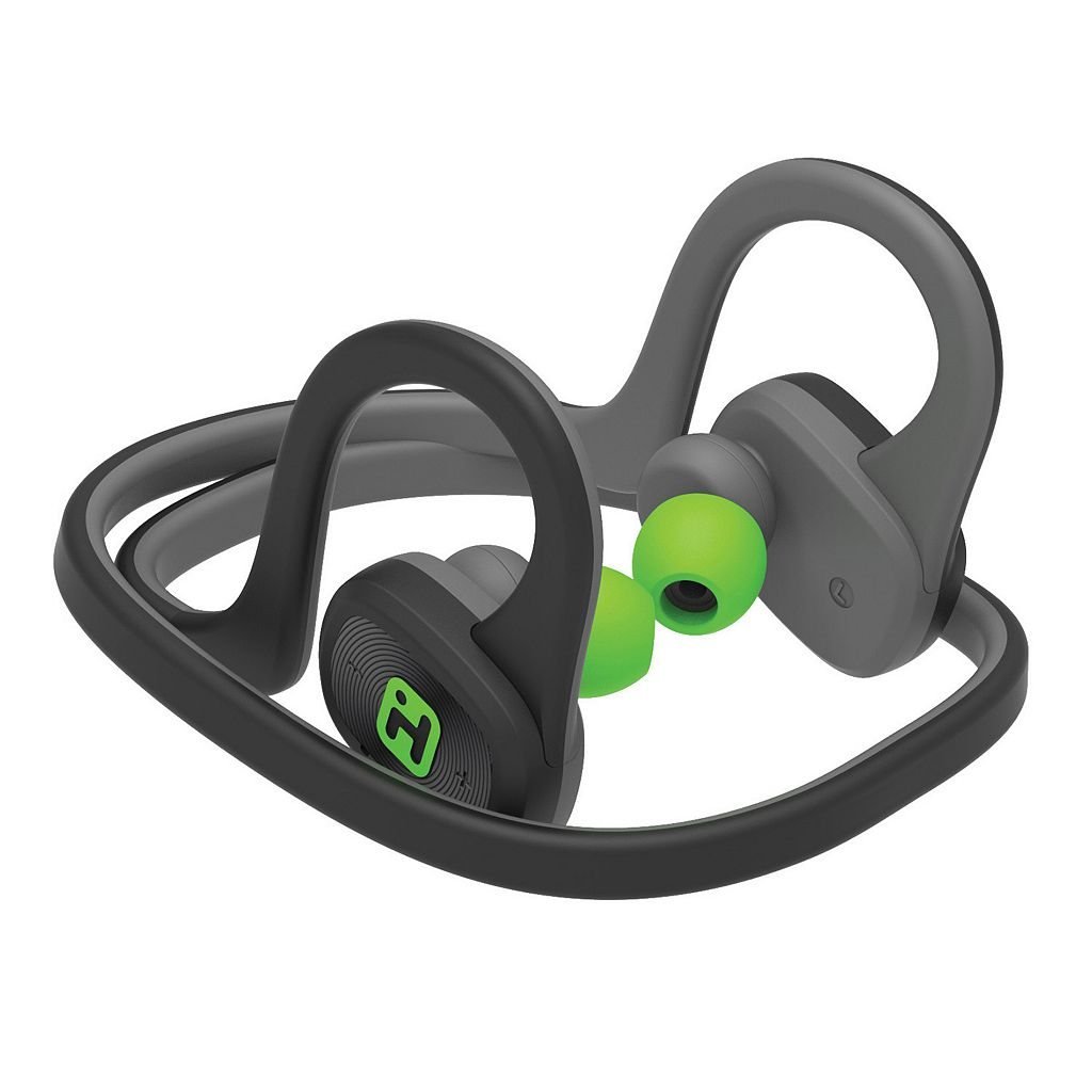 iHome iB80 Water-Resistant Bluetooth Behind-The-Neck Sport Headphones