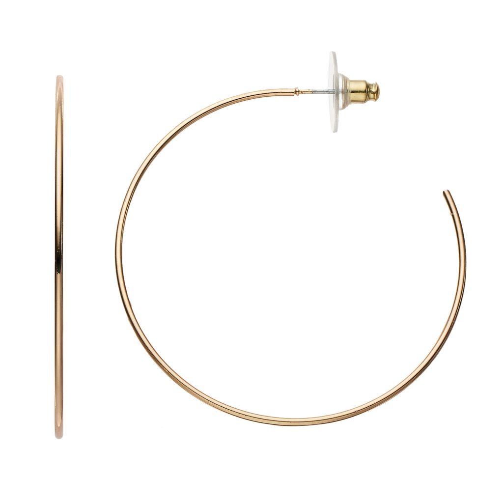 LC Lauren Conrad Hoop Earrings