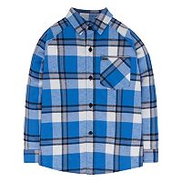 Boys 4-7 Hurley Plaid Button-Down Flannel Shirt