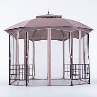 Sunjoy Cardiff 11' x 13' Soft Top Gazebo