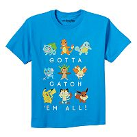Boys 8-20 Pokemon Catch 'Em All Tee