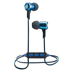 iHome iB29 Bluetooth Noise Isolating Metal Earbuds
