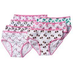 Girls 4-10 TY Beanie Boos Zoey, Pinky & Waddles 7-pk. Briefs