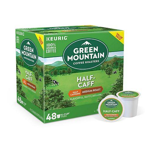 Keurig® K-Cup® Pod Green Mountain Half-Caff Medium Roast Coffee - 48-pk.