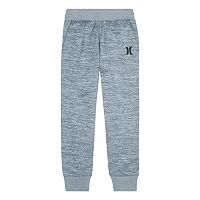 Boys 4-7 Hurley Space-Dyed Fleece Jogger Pants