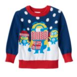 Toddler Boy Minions Holiday Sweater