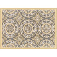 Decor 140 Nouvel Medallion Indoor Outdoor Rug