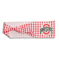 Legacy Athletic Ohio State Buckeyes Gingham Headband
