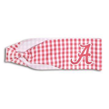 Legacy Athletic Alabama Crimson Tide Gingham Headband