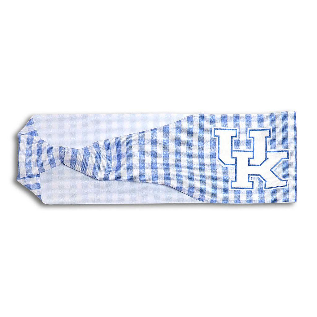 Legacy Athletic Kentucky Wildcats Gingham Headband
