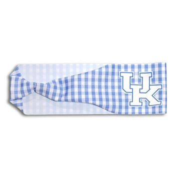 Legacy Athletic Kentucky Wildcats Gingham Headband